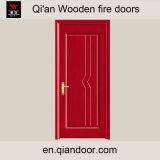 Porte ignifuge en bois de placage de Mandshurica de Fraxinus