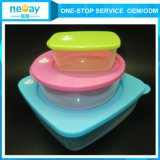 Transparentes Cute 3 Sets Food Container für Wholesale