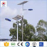 L'Afrique Certfication Soncap this ISO Rue lumière solaire avec pôle