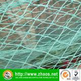 Grünes Plastikantiwind-Netz