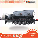 Crusher móvel, Mobile Crusher Plant com Large Capacity