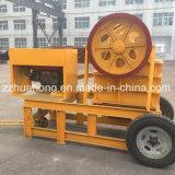 Trituradora de quijada móvil del motor diesel Pef150*250