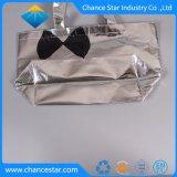 Impreso personalizado Eco metálico PP no tejido bolsa
