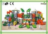 De openlucht speelplaats-Hoge OpenluchtSpeelplaats van de Kwaliteit van Plastiek LLDPE voor de Overzeese van de Groep de Recreatie van Kinderen en Pretparken/Kaiqi Varende Speelplaats van de Stijl