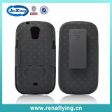 Samsung I415のための織り方Pattern Holster Combo Phone Cover Case