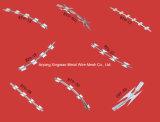 Высокий растяжимый диез Cbt-65 определяет колючую проволоку бритвы катушки Concertina