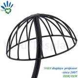 Стойка крышки вешалки шлема держателя шлема стойки шлема нержавеющей стали шкафа шлема стеллажа для выставки товаров шлема стойки индикации шлема (VMH503)