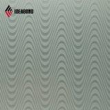 Ideabond 4mm 0,4 mm acabado Molino Panel Compuesto de Aluminio gofrado