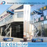 Strumentazione idraulica della piattaforma elevatrice per pulizia di sollevamento di finestra e del carico