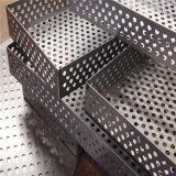 Hoja perforada del acero inoxidable del metal brillante del modelo