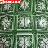 Lamiera di acciaio preverniciata stampata per la decorazione domestica