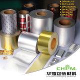 Papel laminado Papel de aluminio laminado de papel de aluminio película de aluminio