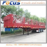 Dierlijke Aanhangwagen van de Vrachtwagen van het Vervoer van het Vee van de Lading stortgoed de Semi