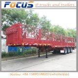 Bulkladung-Viehbestand transportieren halb LKW-Tier-Schlussteil