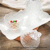 Frasco de vidro dos doces da forma do abacaxi do armazenamento do açúcar da amostra livre 150ml