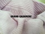 Die Super Luxury Cashmere Pop Knit der Dame Schildkröte-Stutzen-Strickjacke wärmen sich