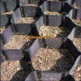 Zwarte HDPE Geosynthetic 75mm Geocells
