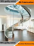 Indústria de Estrutura de aço galvanizado escadas para andar
