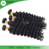 Populaires 100% Remy Hair Extension les faisceaux de cheveux humains vague profonde