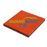 Для использования вне помещений резиновый напольный//взаимосвязанных Установите противоскользящие резиновые плитки/спортзал пол/красочном спортивном резиновый пол