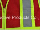 Het weerspiegelende Vest van de Veiligheid van Workwear /Reflective