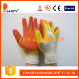 Shell Ddsafety 2017 Coton Couleur Double Latex Gant de trempage