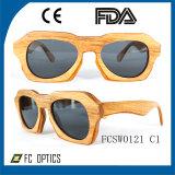 Os óculos de sol de bambu os mais novos do desenhador dos óculos de sol