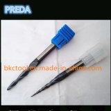 HRC55 3 Flautas Concial extremo cónico Mills Tools