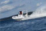 O Parque Aquático Aqualand 19pés 5.7m Lancha inflável rígida/Sports costela barco (Costela570B)