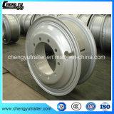 造られたアルミ合金の車輪22.5X8.25ディスクタイプトラックの車輪の縁