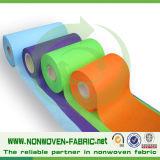 Tela não tecida colorida do Polypropylene