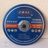 金属のための粉砕車輪そして磨く車輪