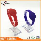 Durable et un coût concurrentiel de silicium bracelet RFID pour le contrôle des accès