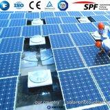 De vidro para painel solar