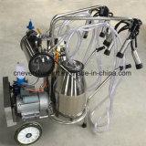 Máquina de Ordeño móvil más reciente modelo Pumpo de vacío para vacas