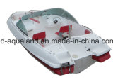 De Boot van de Sporten van de Glasvezel van China Aqualand 17feet 5.2m/Snelheid Bowrider/de Visserij van Sporten/de Boot van de Motor (170)