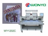 Bester Verkauf computerisierte Hauptmaschine der stickerei-2 mit Entwürfen