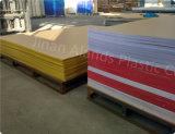 Feuille acrylique colorés à impact élevé pour le matériel publicitaire