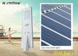 Indicatore luminoso solare tutto compreso economizzatore d'energia del giardino di controllo chiaro di prezzi di fabbrica