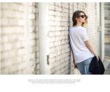 Premium бамбук хлопок женские блуза завод