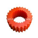 Logo personnalisé en nylon MC en plastique dur ABS Delrin POM encerclé de la couronne / pignon conique