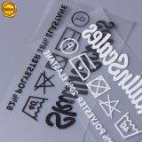 로고를 가진 Sinicline 의복 부속품 직물 열전달 인쇄 레이블