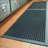 Hôtel des tapis en caoutchouc/&antiglisse tapis en caoutchouc de la cuisine de drainage (GM0406)