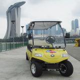 Colore giallo elettrico del carrello di golf 6-Seater