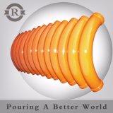 Dn150 6 de Flexibele Fabrikant van de Slang van de Concrete Pomp van het Koord van het Staal '' Spiraalvormige Rubber