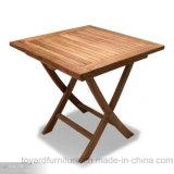 Table basse en bois de Tableau de pliage de grand dos de teck de jardin de patio moderne extérieur de meubles