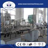 Llenador automático del jugo de la botella de cristal de la presión negativa del precio de fábrica