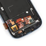 SamsungギャラクシーS3のための青い計数化装置の表示LCDタッチ画面