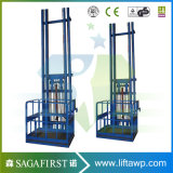 plates-formes de levage de chargement hydraulique vertical de cargaison de 3m à de 6m