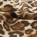 Leopard Tissu de coton pour des vêtements pour dames